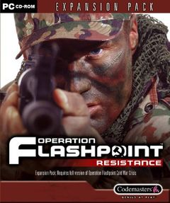 Box art for Operation Flashpoint: Resistance