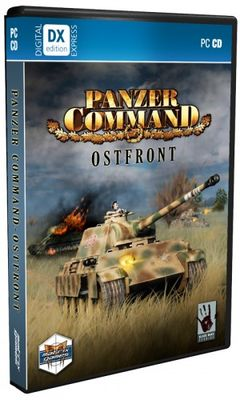 Box art for Panzer Command: Ostfront