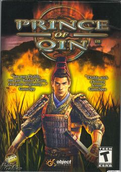 Box art for Prince of Qin