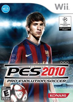 Box art for Pro Evolution Soccer 2010