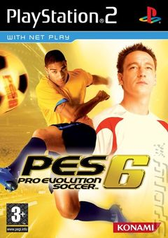 Box art for Pro Evolution Soccer 6