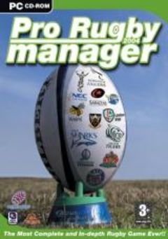 box art for Pro Rugby Manager 2004
