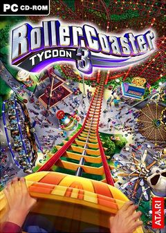 box art for RollerCoaster Tycoon 3