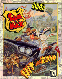 box art for Sam  Max Hit the Road