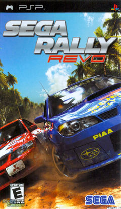 Box art for Sega Rally Revo