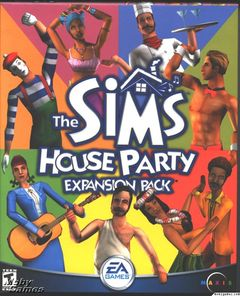 box art for Sims: House Party, The