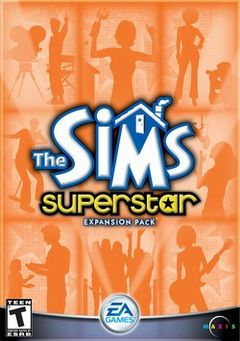 box art for Sims: Superstar, The