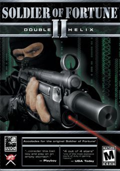 Box art for Soldier of Fortune 2 - Double Helix