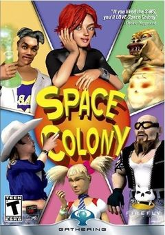 box art for Space Colony