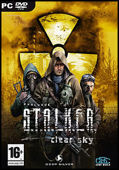 Box art for STALKER: Clear Sky