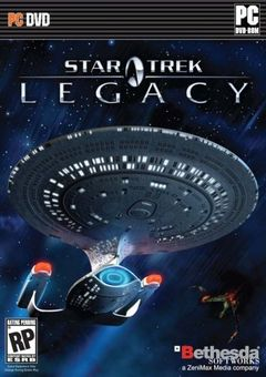 Box art for Star Trek: Legacy