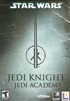 Box art for Star Wars Jedi Knight: Jedi Academy