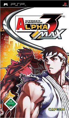 box art for Street Fighter Alpha 3 Max