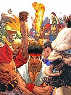 box art for Street Fighter Anniversary Collection