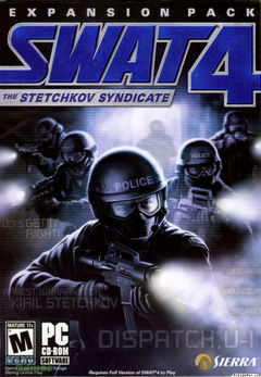Box art for SWAT 4: The Stetchkov Syndicate