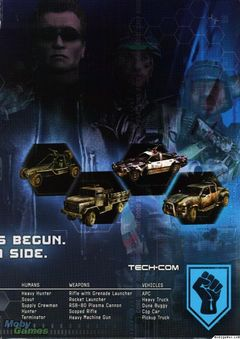 Box art for Terminator 3: War of the Machines