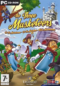 box art for The Three Musketeers: The Game