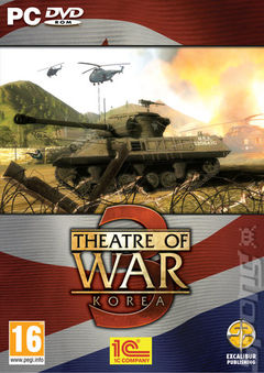 Box art for Theatre of War 3 Korea