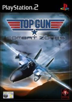 box art for Top Gun - Combat Zones