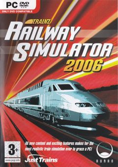 Box art for Trainz Railway Simulator 2006