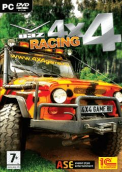 Box art for UAZ Racing 4x4