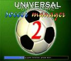 box art for Universal Soccer Manager 2