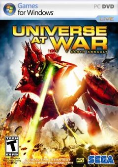 Box art for Universe at War: Earth Assault