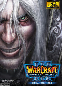 box art for WarCraft III: The Frozen Throne