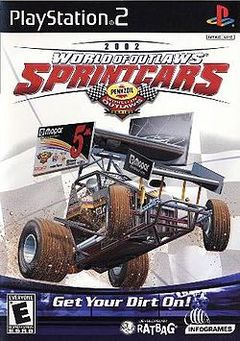 Box art for World of Outlaws: Sprint Cars 2002
