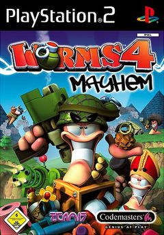 box art for Worms 4: Mayhem