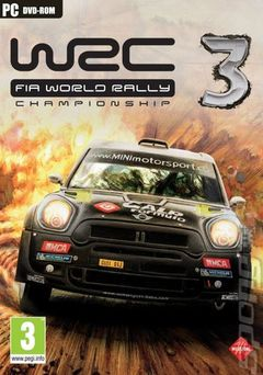 box art for WRC 3 FIA World Rally Championship