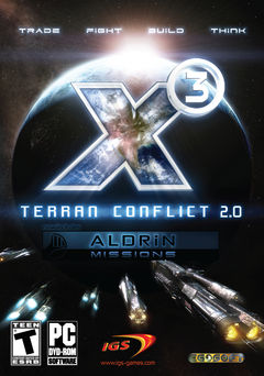 Box art for X3: Terran Conflict