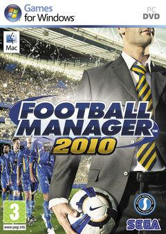 Box art for Football Manager 2010