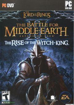 Box art for The Lord Of The Rings - The Battle For Middle Earth 2 - Rise Of The Witch King