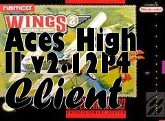 Box art for Aces High II v2.12P4 Client