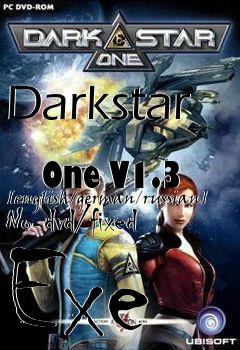 Box art for Darkstar             One V1.3 [english/german/russian] No-dvd/fixed Exe
