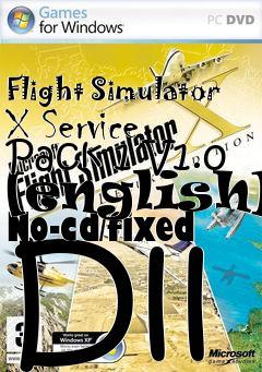 microsoft flight simulator x sp1 english