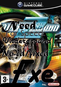 Need For Speed: Underground 2 V1.0 [english] No-cd/fixed ...
