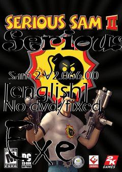 How to hack serious sam 2 cheat codes!!! Youtube.