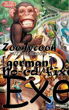 zoo tycoon 2 ultimate collection no cd crack german