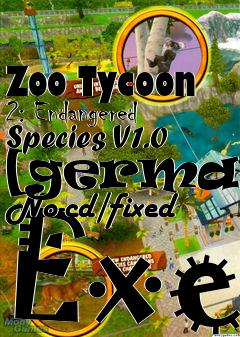 Zoo Tycoon 2: Endangered Species V1 0 [german] No-cd/fixed Exe free