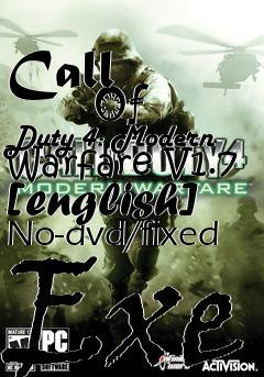 Call of duty 4 patch v. 1. 7 codpatch.