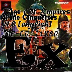 Box art for Age Of Empires 2: The Conquerors V1.0 [english] No-cd/fixed Exe