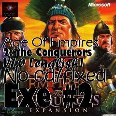 age of empires 2 conquerors no cd