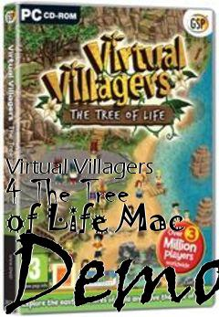 Box art for Virtual Villagers 4 The Tree of Life Mac Demo