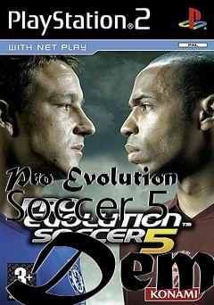 Box art for Pro Evolution Soccer 5 Demo