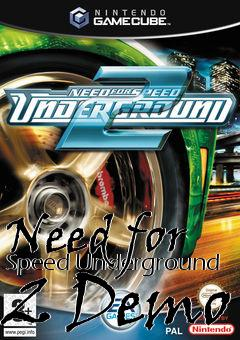 Box art for Need for Speed Underground 2 Demo