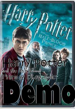 Box art for Harry Potter and the Half-Blood Prince Playable Demo