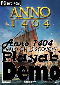 Box art for Anno 1404 Dawn of Discovery Playable Demo