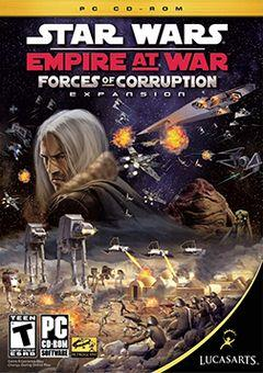 Box art for Star Wars: Empire at War: Forces of Corruption